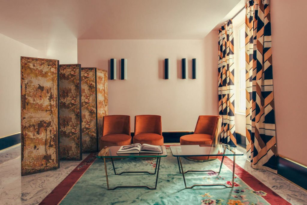 Tendance le color block huskdesignblog for Design hotel des francs garcons saintes
