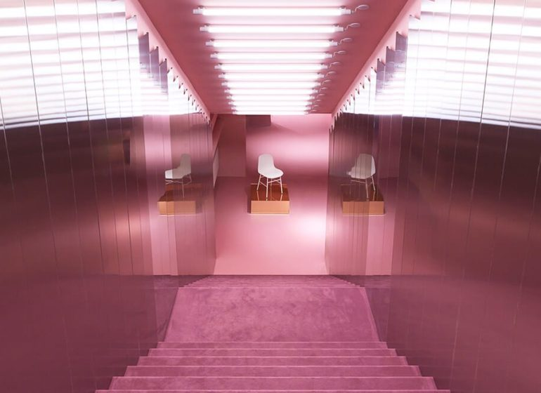 architecture d'intérieur flagship repossi paris oma studio