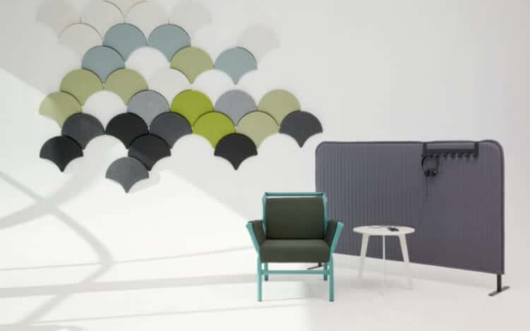 solution acoustique mural arper huskdesignblog