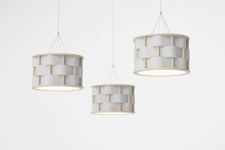 stockholm furniture & light fair 2017 sélection tendance glimakra weave pendant