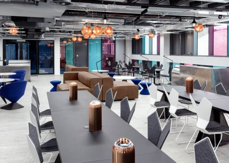 Tom Dixon, Atrium co-working space, London