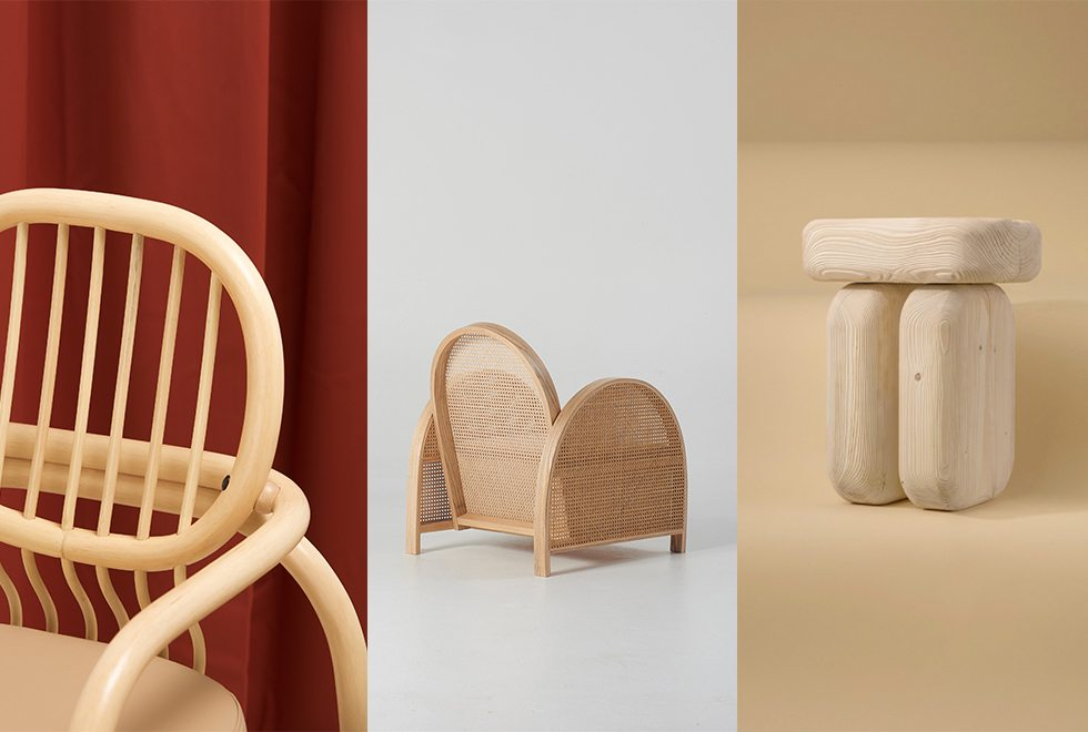 DESIGN: Wood is showing up in 3 brand new chairs - Huskdesignblog