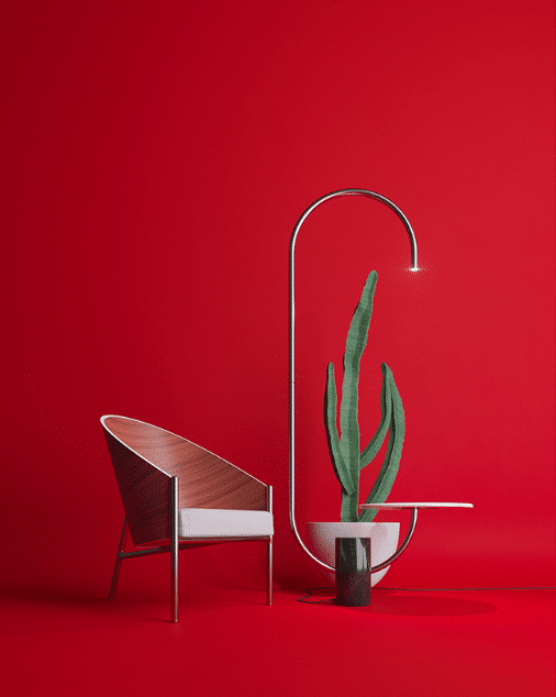 Bijou table/lamp by Sergey Makhno and Ihor Havrylenko