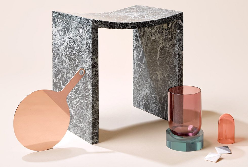 New Reflections, Objects of Common Interest, Marble Stool