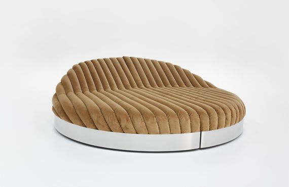 Conversation Pit daybed, design Jonas Van Put, photos Alexander Popelier