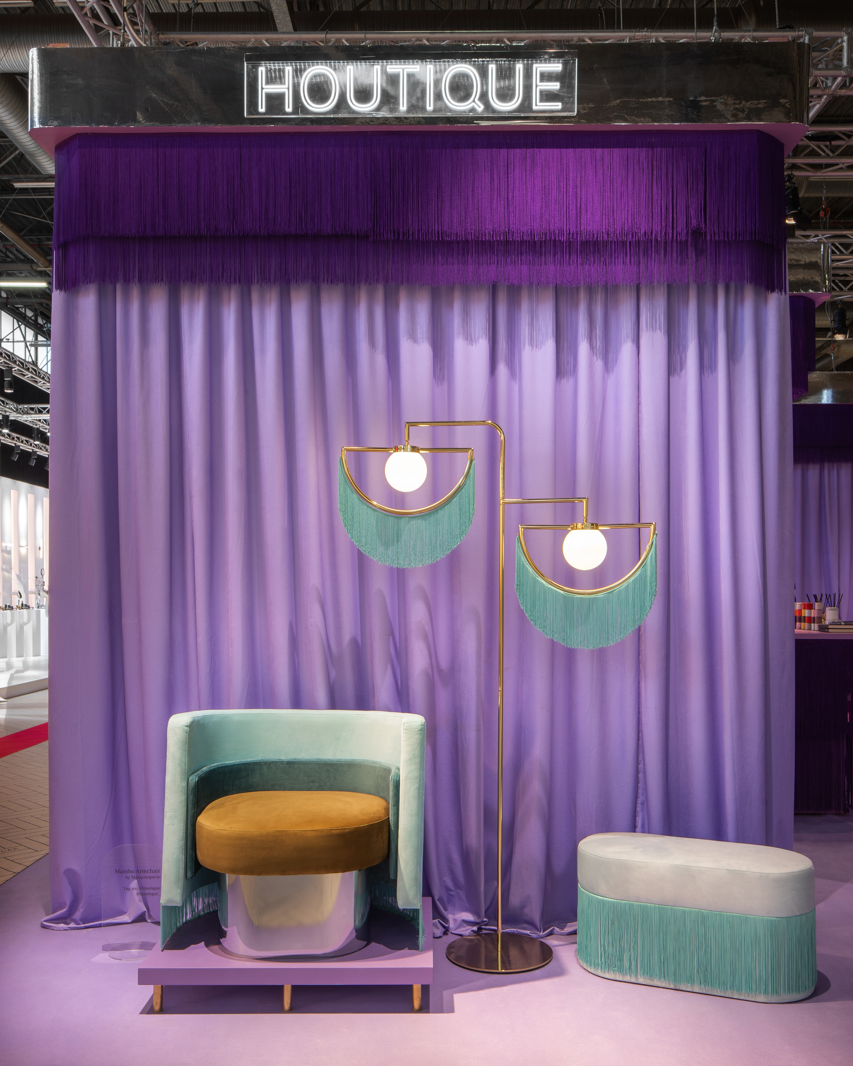 Maison&Objet 2019, Houtique booth
