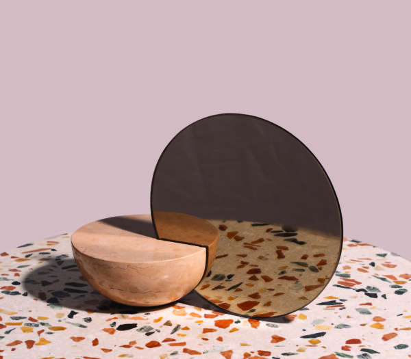 On the occasion of Maison&Objet 2019, design brand Mondo Marmo has presented a new mirrors and vases collection designed by Charlotte Taylor.