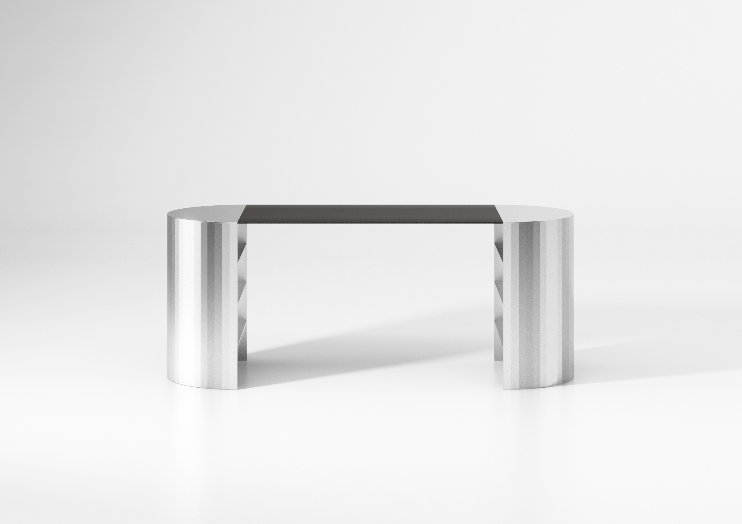 On the occasion of Maison&Objet and Paris Déco Off 2019, designer POOL Studio designed a raw metal desk.