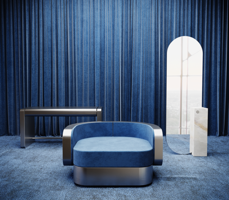 Collectible furniture design collection by French design studio Youth Editions.